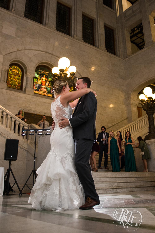 Libby and Ian - Minnesota Wedding Photography - Minneapolis City Hall - RKH Images - Blog  (46 of 53).jpg