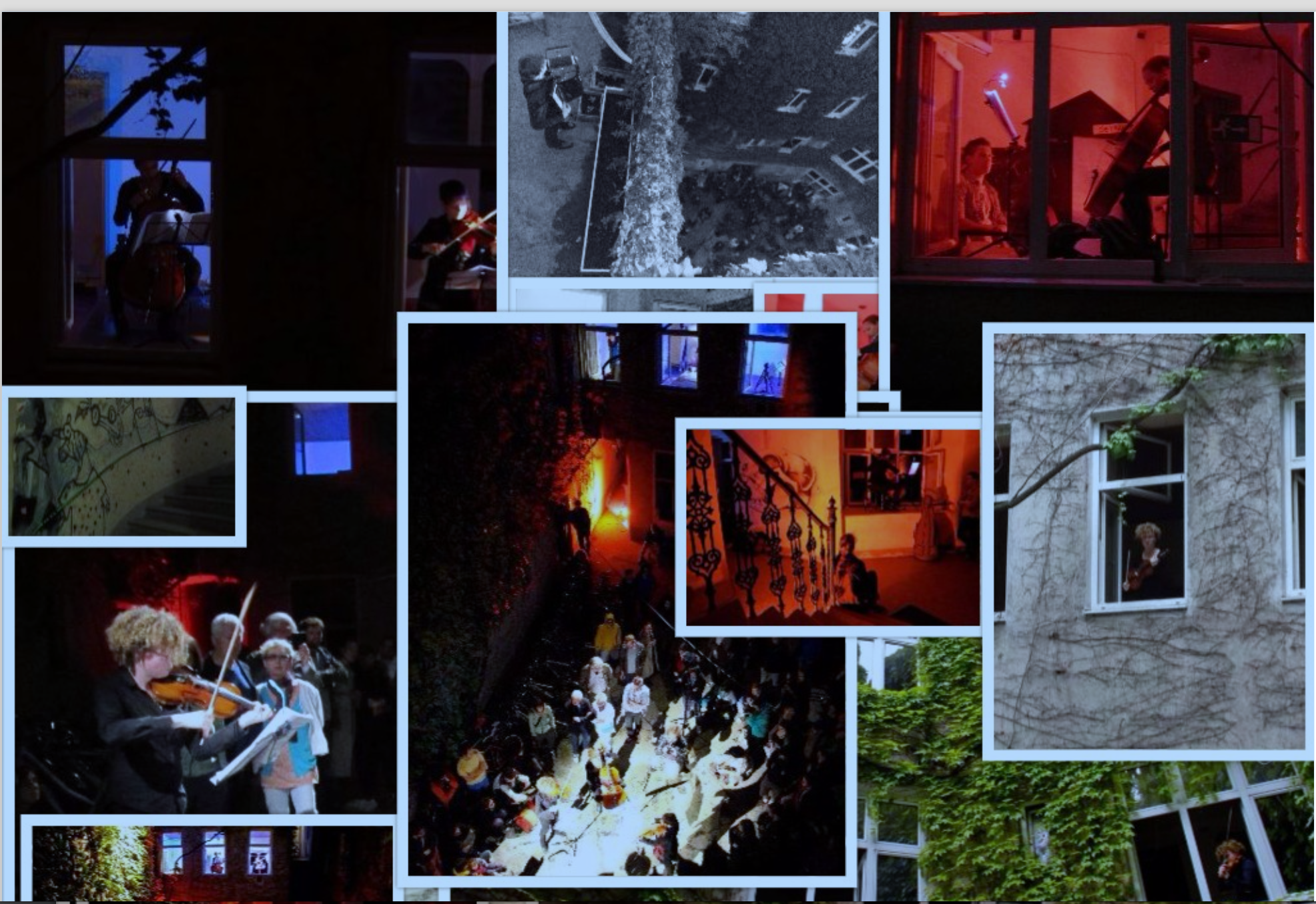 The Site-Specific Immersive Concert Experience Soundproof-Vienna Austria 2013