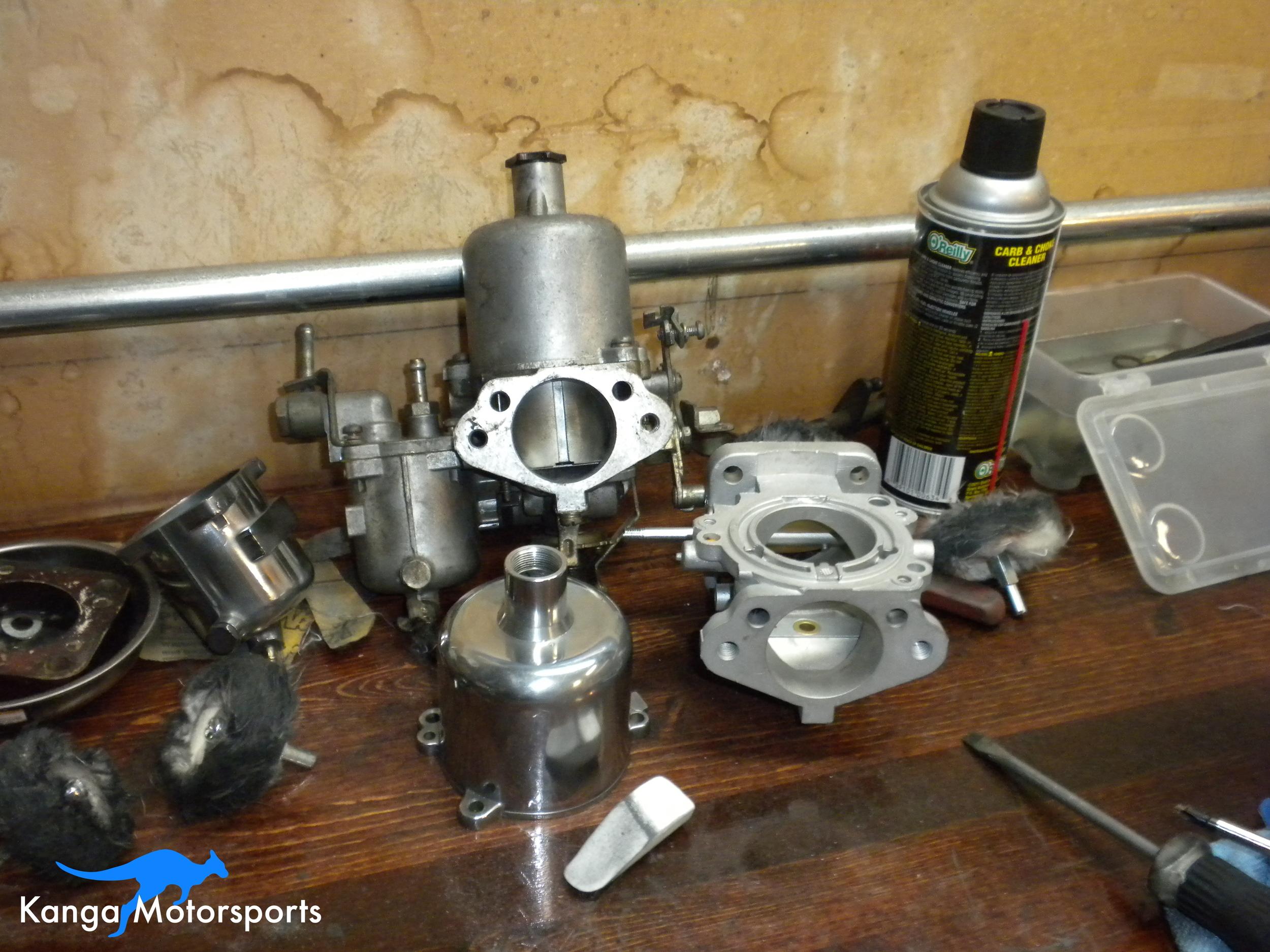 Datsun 240z SU Carb Cleaning Rebuild.JPG