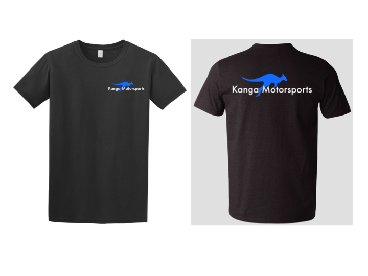 Kanga Motorsports T-Shirt Mock Up