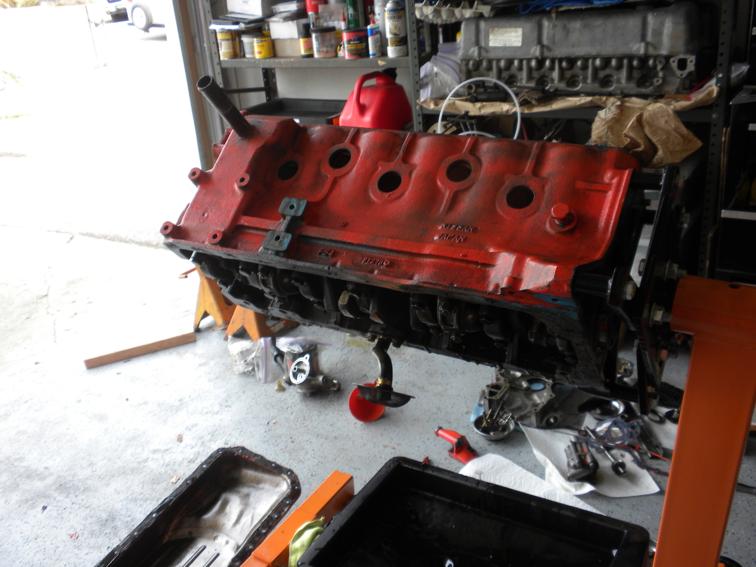 Datsun 240z Engine Block Cleaning small.JPG