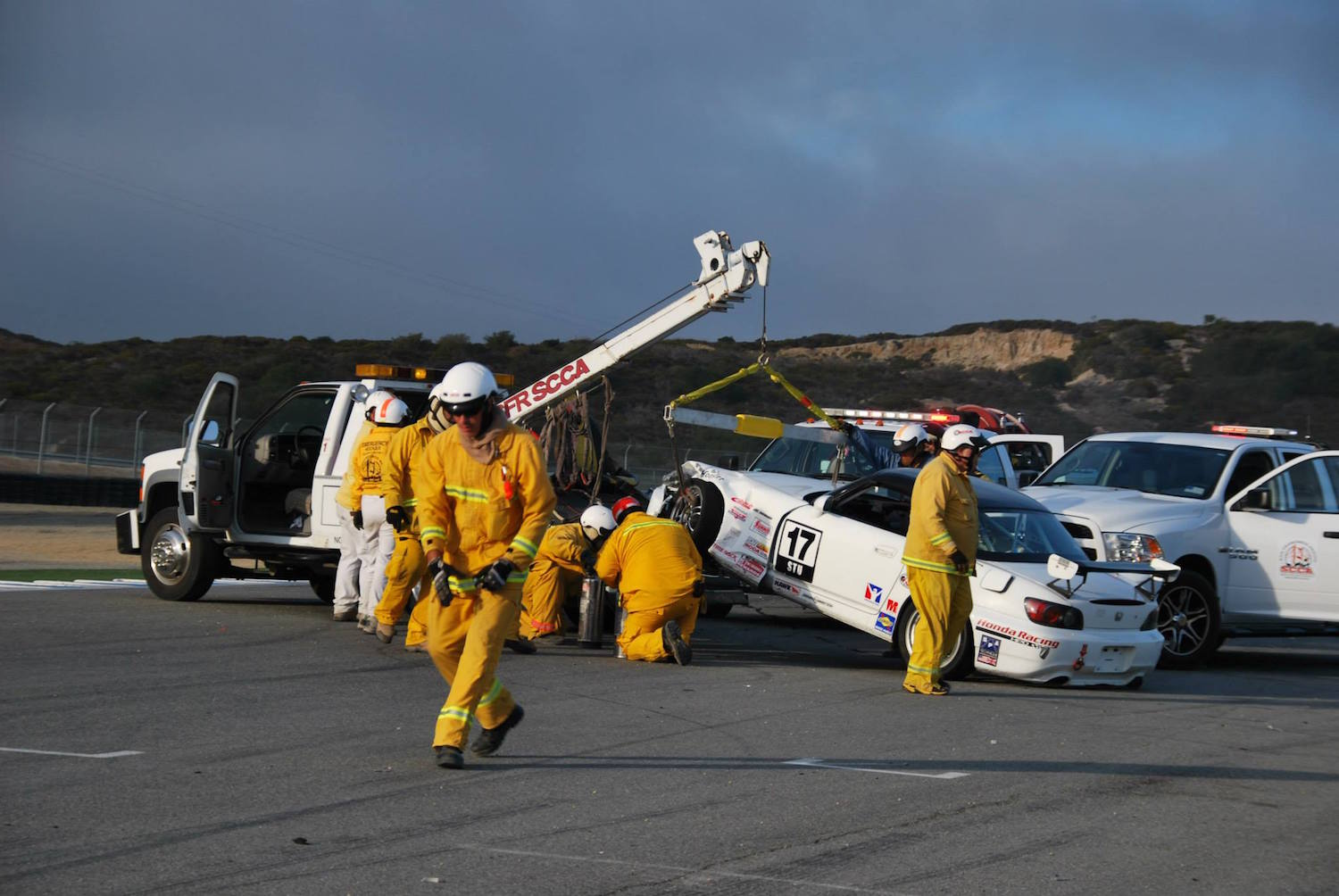 See what is involved with the SCCA Emergency Services crew (Photo: SCCA San Francisco Region)