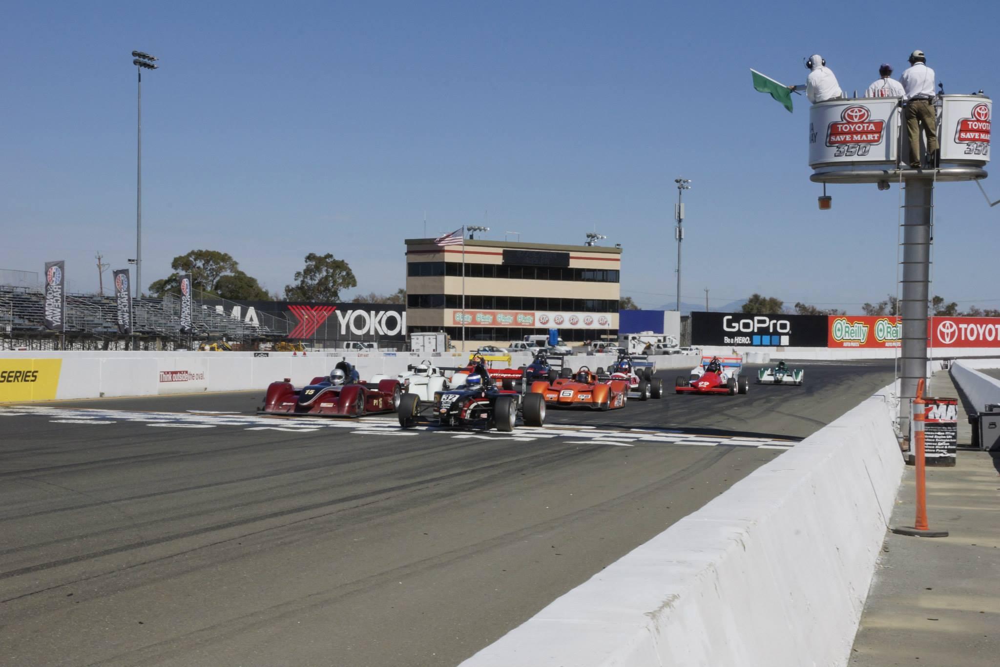 See a Race start (Photo: SCCA San Francisco Region)