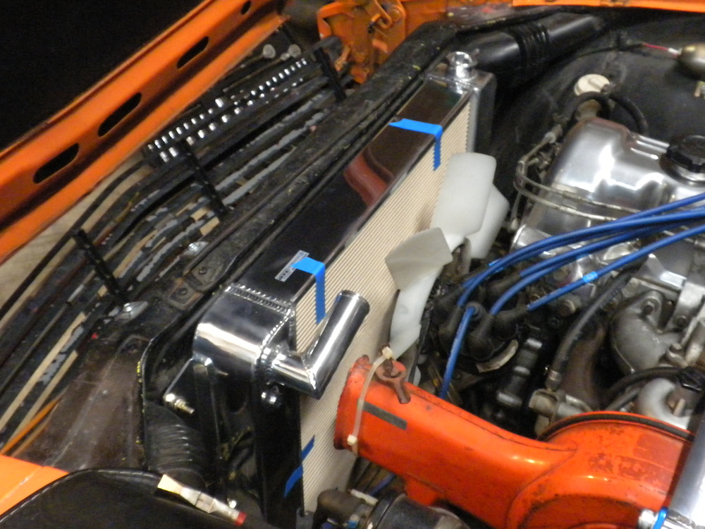 Koyorad Radiator Install — Kanga Motorsports