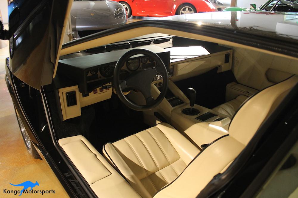 1989 Lamborghini Countach Interior.JPG