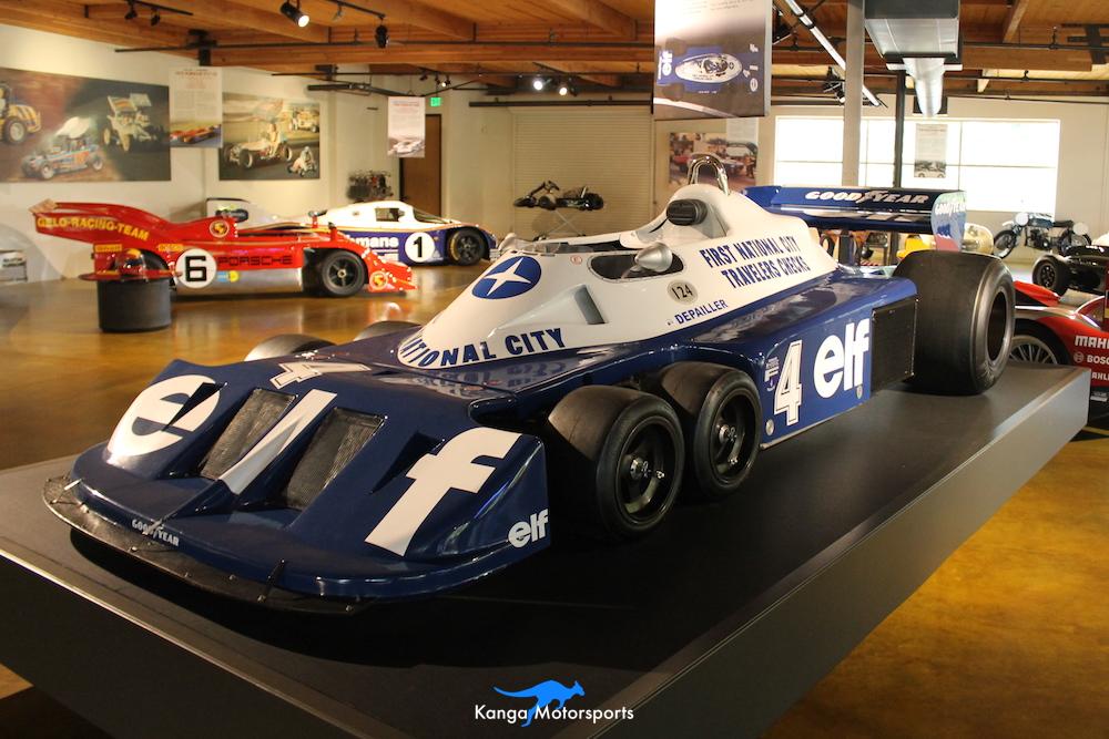 1976 Tyrrell P34 Formula One Front Left.JPG