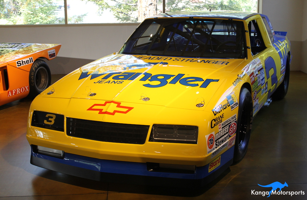 1987 Chevrolt Monte Carlo NASCAR Front.JPG