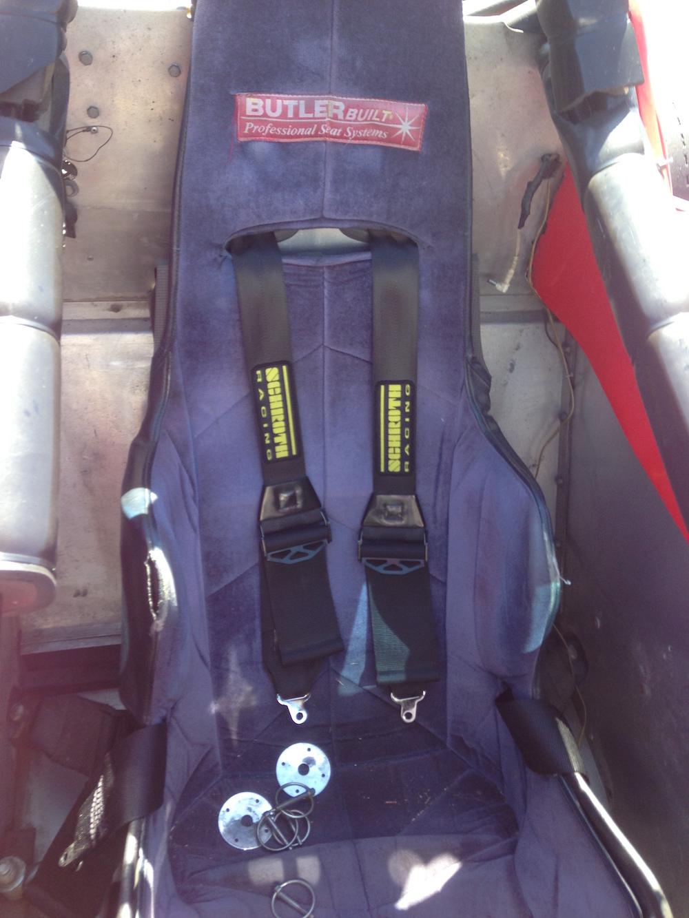 ButlerBuilt Seat and Harnesses.JPG