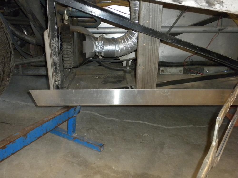 Clamp the rear rub rail.JPG