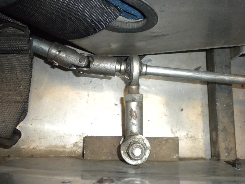 Cockpit shifter arm.JPG