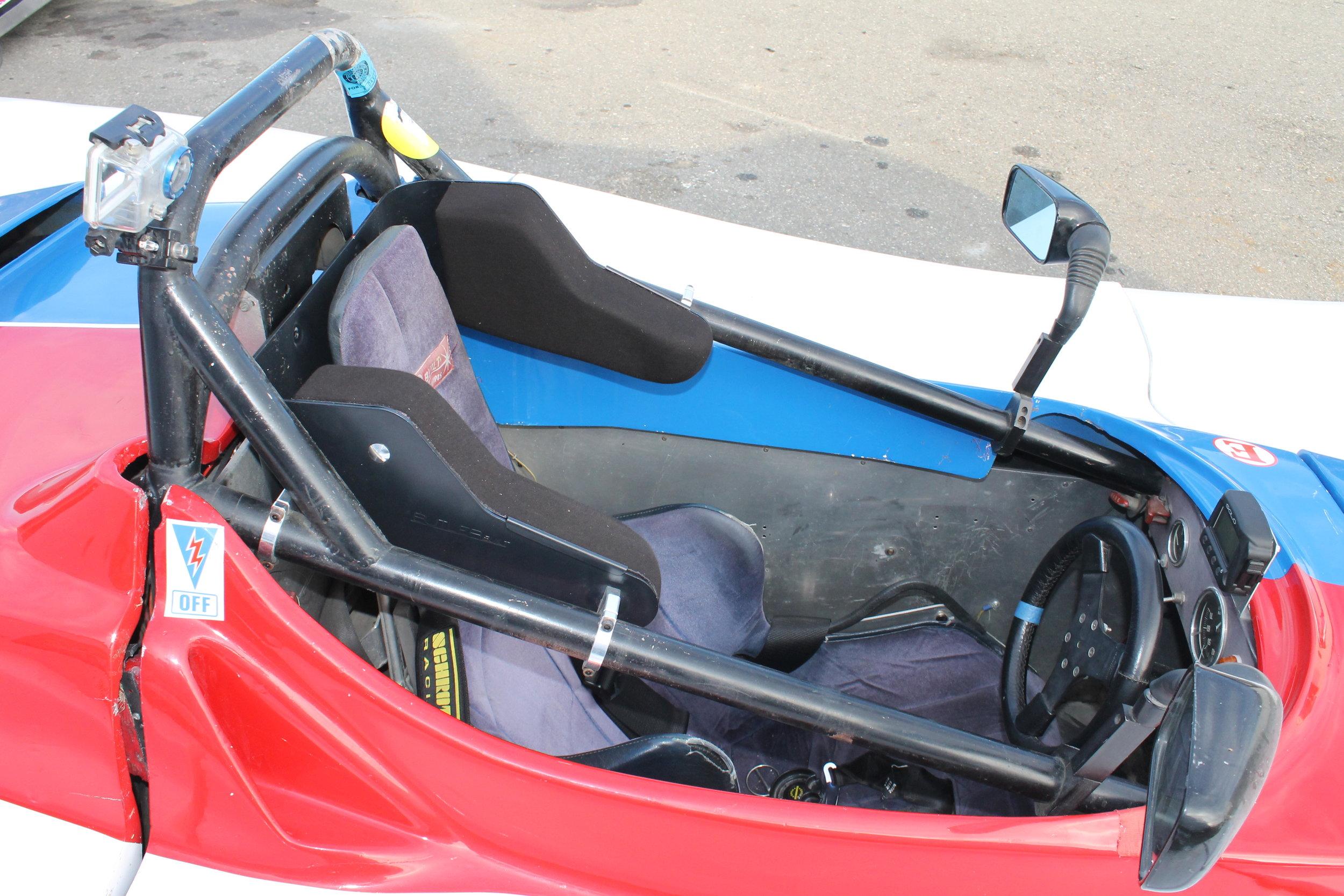 Butler Built Head Support System On Car 5.JPG