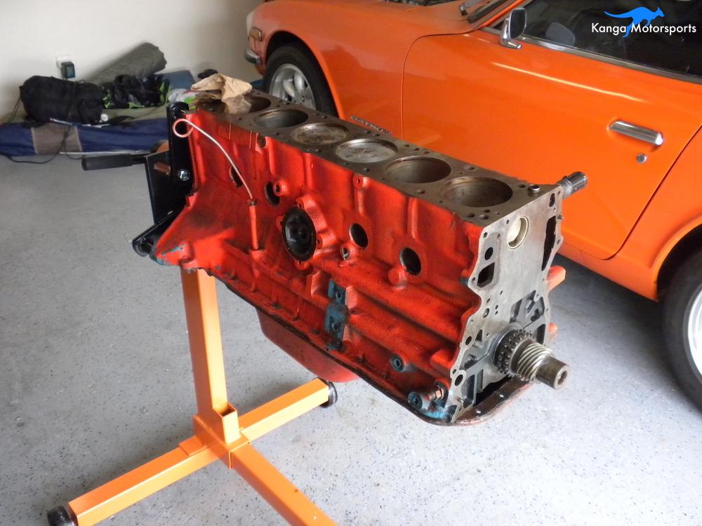 Datsun Engine Block Disassembly — Kanga Motorsports