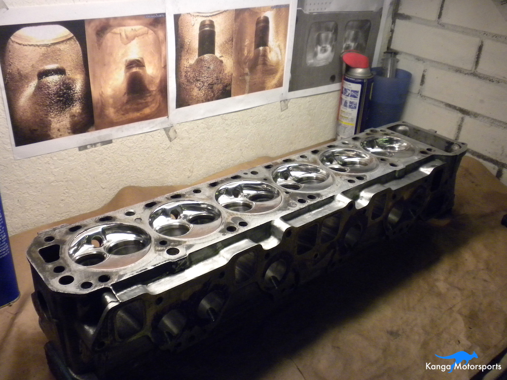 Datsun Cylinder Head Admire Your Work.JPG