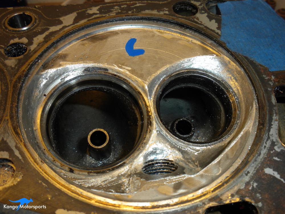 Datsun Cylinder Head Chamber Shaping.JPG