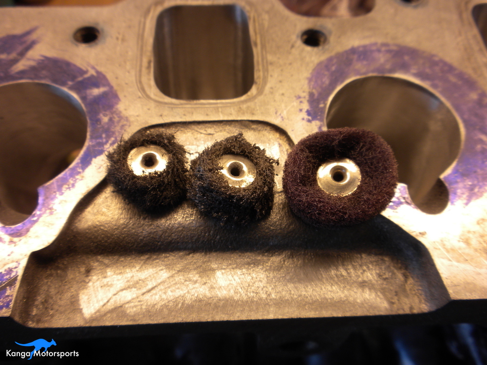 Datsun Cylinder Head Polishing Buffs.JPG