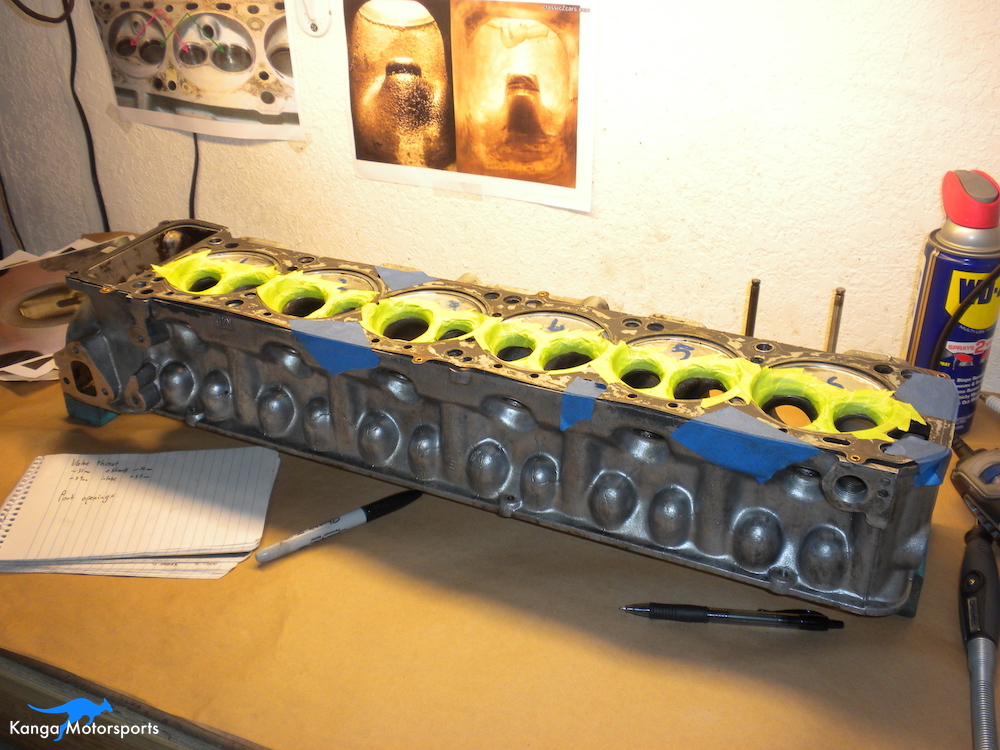 Datsun Cylinder Head Protect the valve seats.JPG
