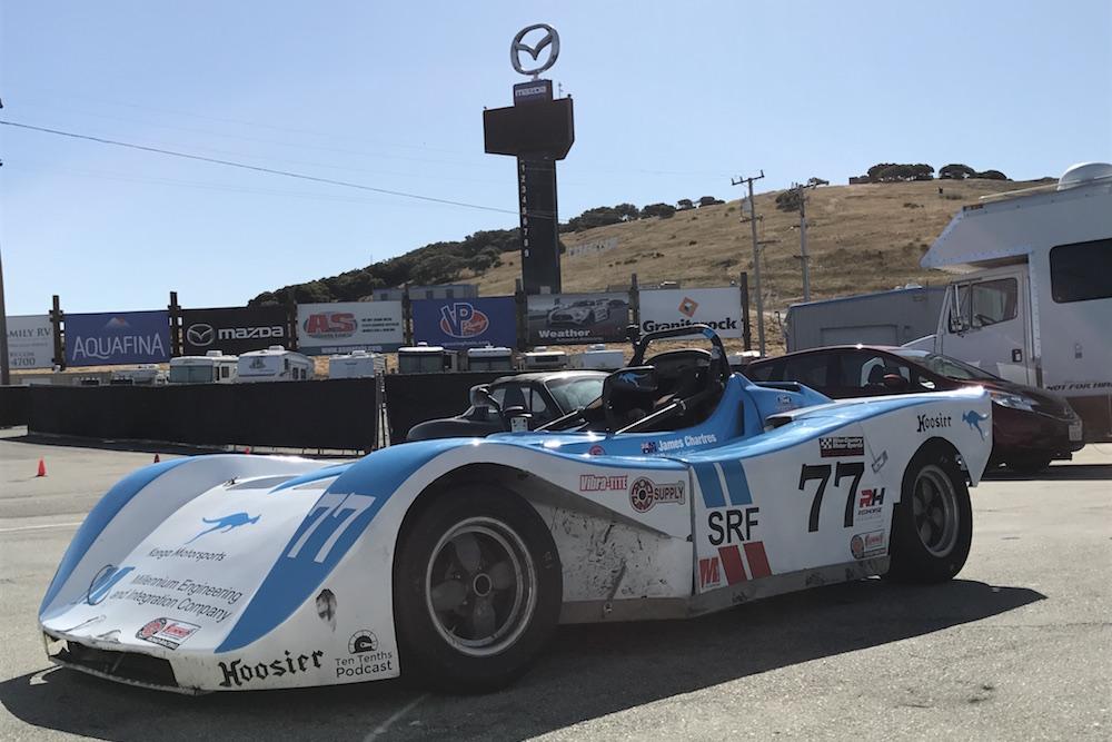 Kanga Motorsports Mazda Raceway Laguna Seca Paddock Postcard.JPG