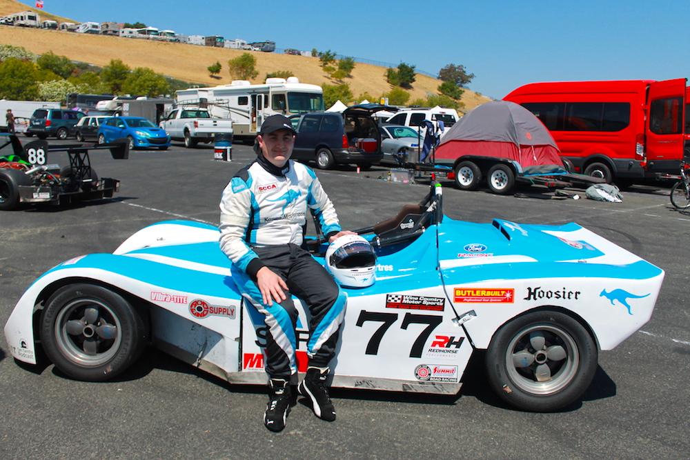 Kanga Motorsports Spec Racer Ford Sonoma Raceway Paddock.JPG