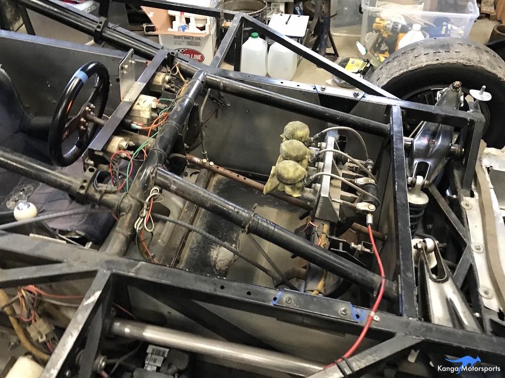 Kanga Motorsport Spec Racer Ford Pedals Naked Chassis.JPG
