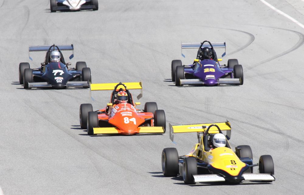 Formula Mazda (FM) Photo Courtesy SCCA San Francisco Region