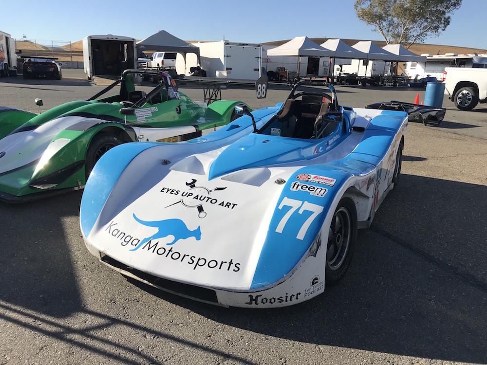 Kanga Motorsports SCCA Spec Racer Ford Thunderhill Eyes Up Auto Art.JPG