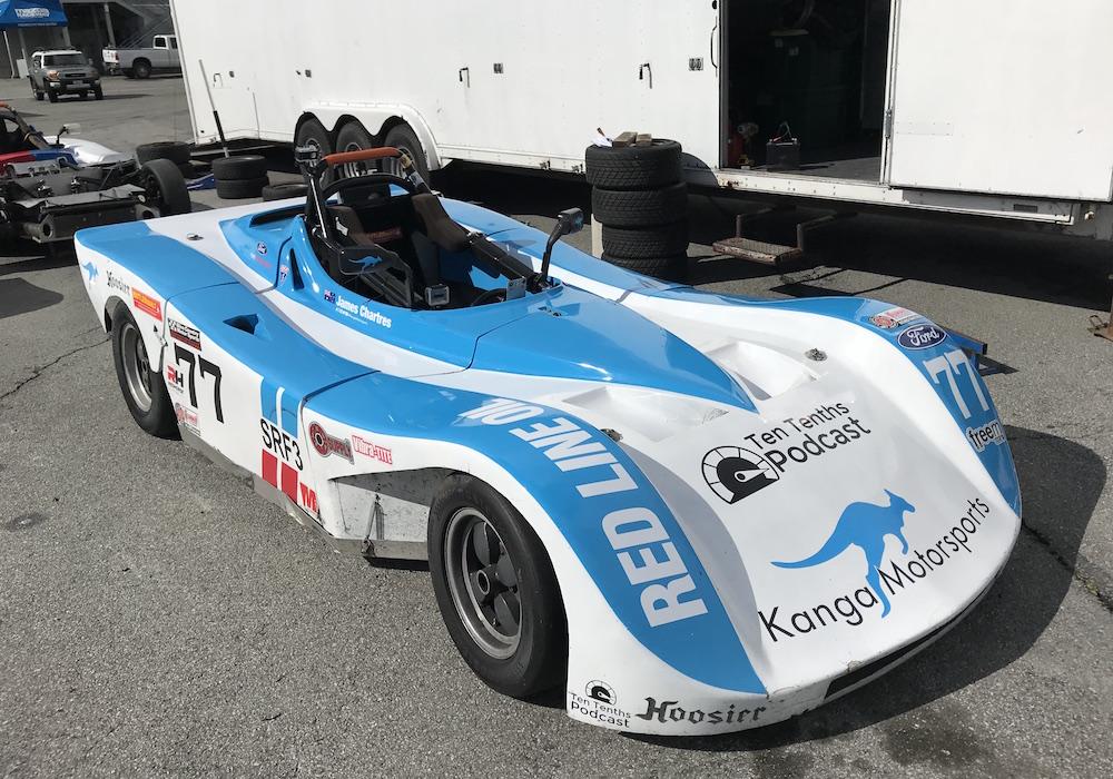 Kanga Motorsports Spec Racer Ford Laguna Seca 2018 Race Preparations.JPG