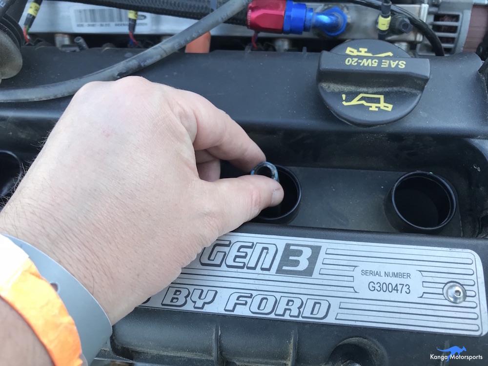 Kanga Motorsports Spec Racer Ford Compression Test Reinstall Spark Plug.JPG
