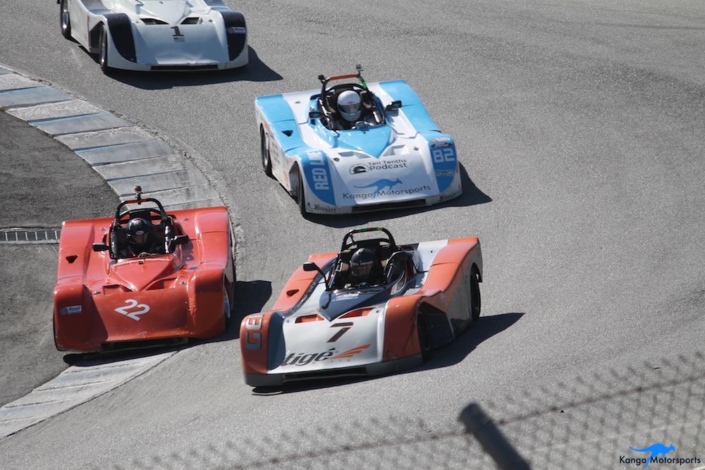 Kanga Motorsports WeatherTech Raceway Laguna Seca Spec Racer Ford Gen3 Crowded Corkscrew.JPG
