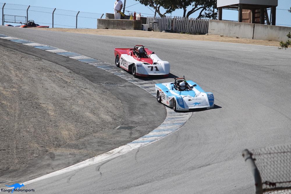 Kanga Motorsports WeatherTech Raceway Laguna Seca Spec Racer Ford Gen3 More Race 8 Battles.JPG