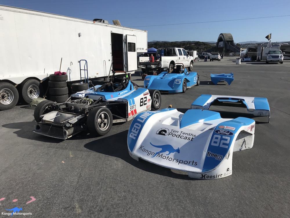 Kanga Motorsports WeatherTech Raceway Laguna Seca Spec Racer Ford Gen3 Preparations.JPG