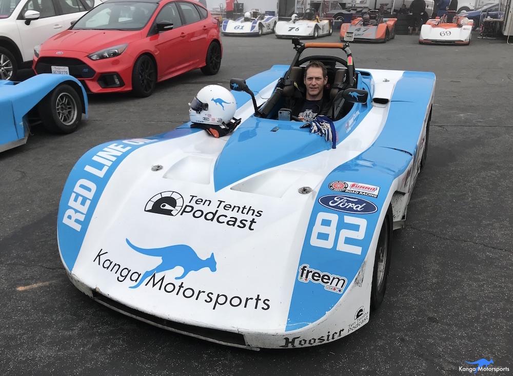 Kanga Motorsports 2018 WeatherTech Raceway Laguna Seca  Spec Racer Ford Gen3 Ryan Visit.JPG