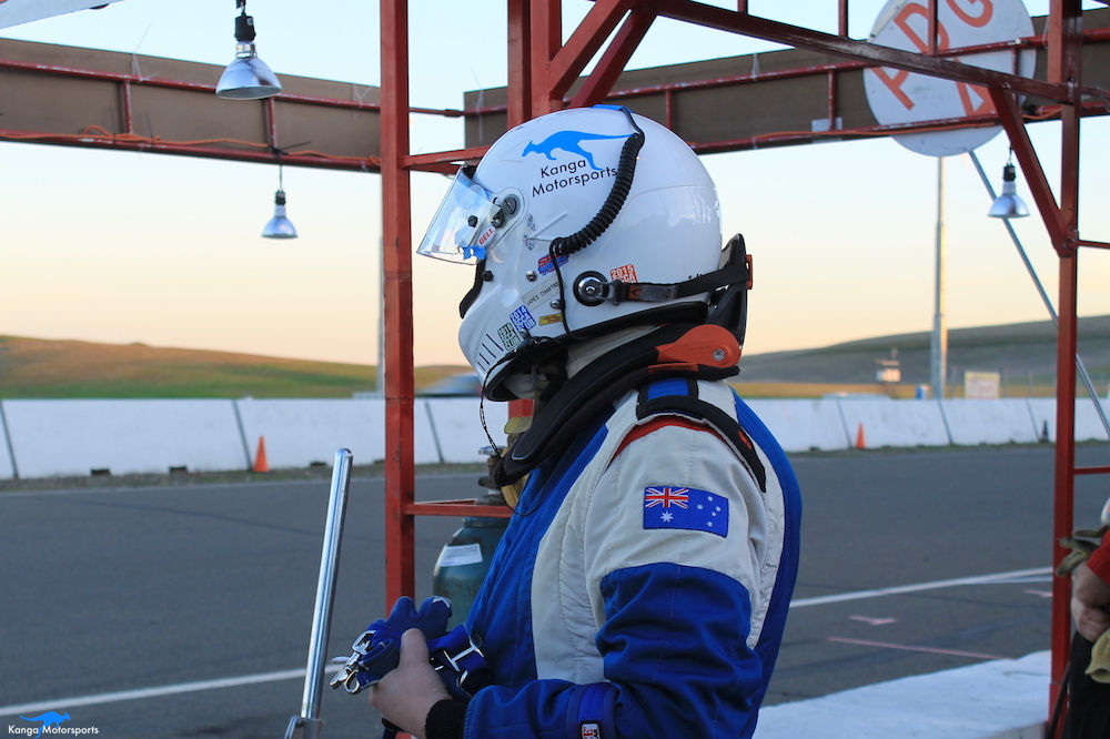 Kanga Motorsports Endurance Racing Helmet Radio Pit Stop.JPG