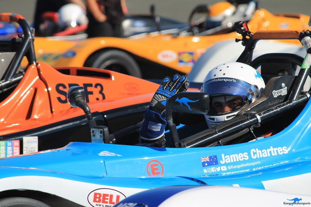 Kanga Motorsports SCCA Runoffs Spec Racer Ford Gen3 On Grid Pre Race.JPG