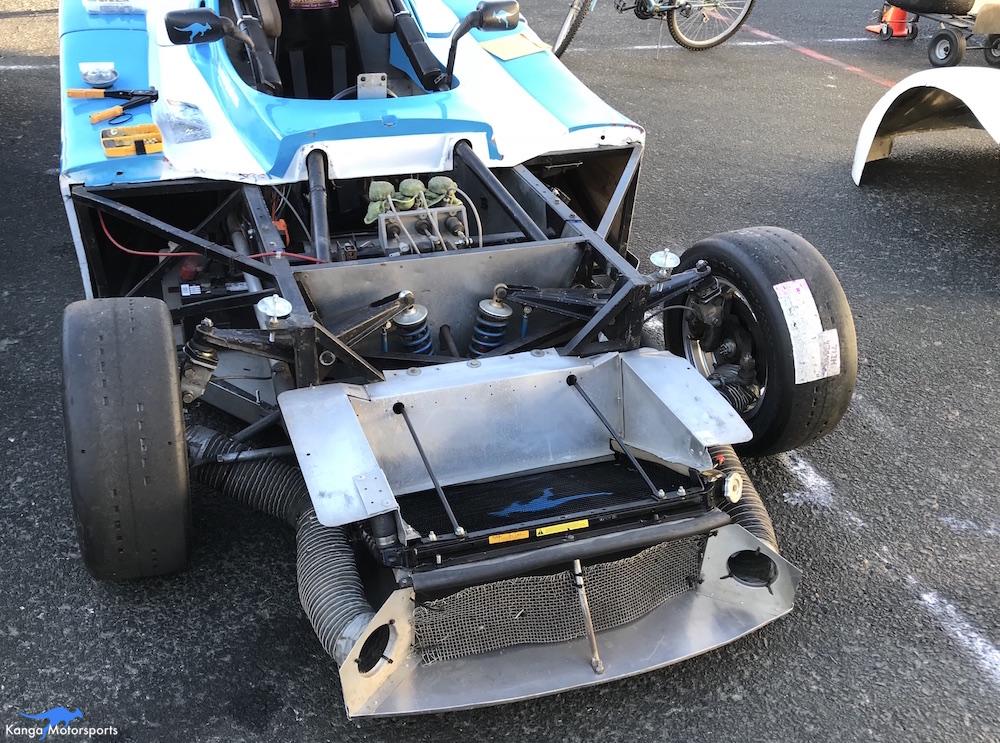 Kanga Motorsports SCCA Runoffs Spec Racer Ford Gen3 Sonoma Raceway Last Minute Touches.JPG