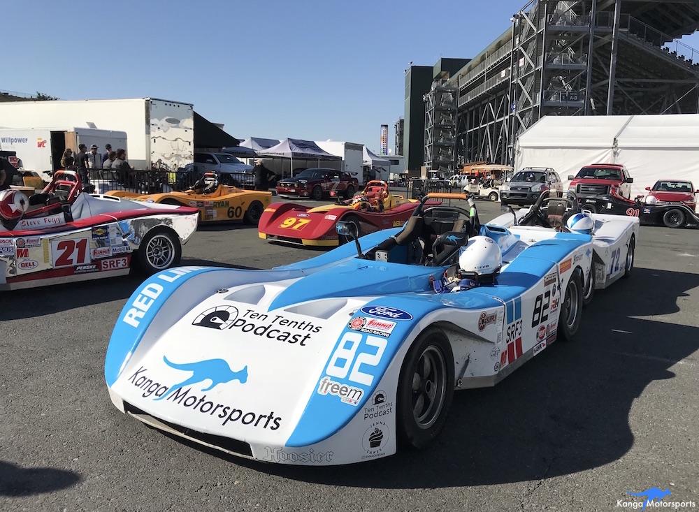 Kanga Motorsports SCCA Runoffs Spec Racer Ford Gen3 Sonoma Raceway Technical Inspection.JPG