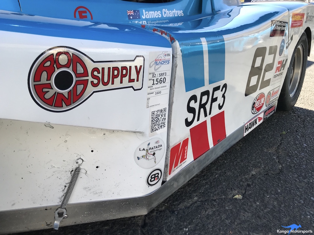 Kanga Motorsports SCCA Runoffs Spec Racer Ford Gen3 Sonoma Raceway Partners & Sponsors.JPG