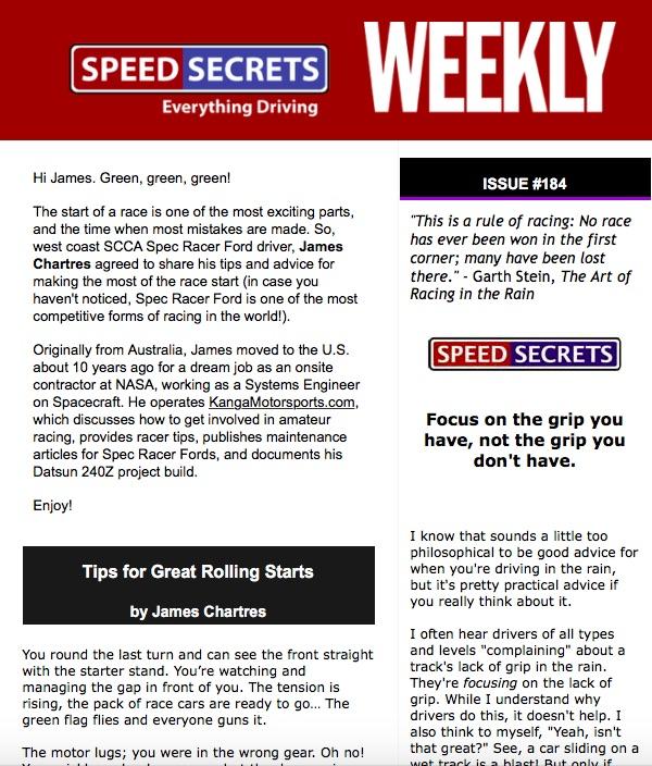 Speed Secrets Weekly #184 Article Kanga Motorsports.jpg