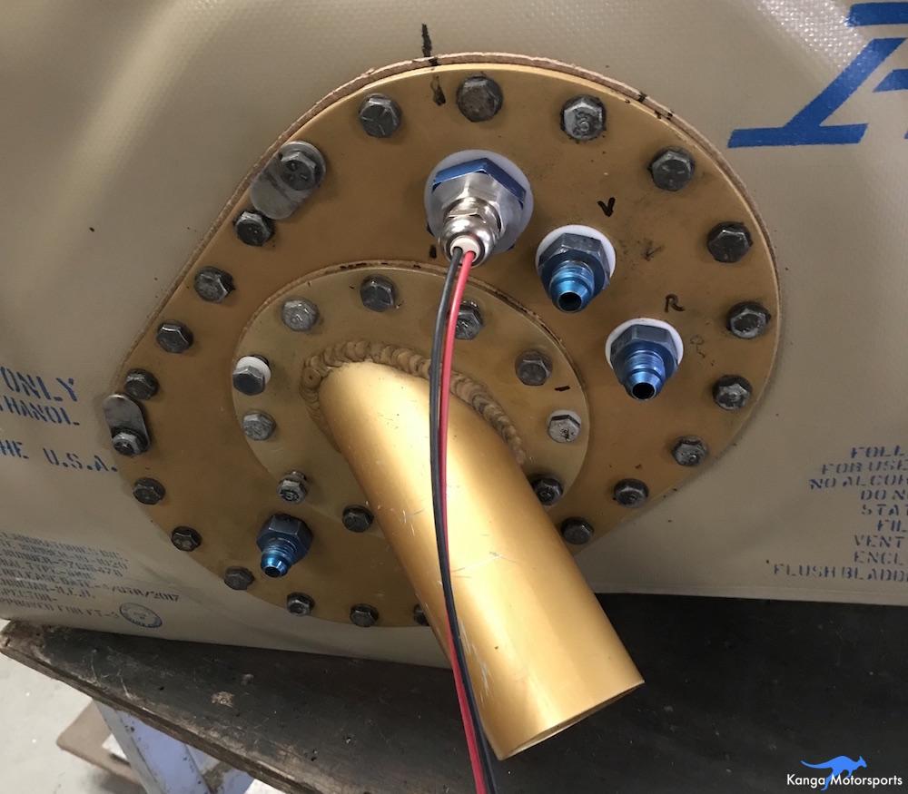 Kanga Motorsports Spec Racer Ford Gen3 Fuel Cell Install Torque Cover Bolts.JPG
