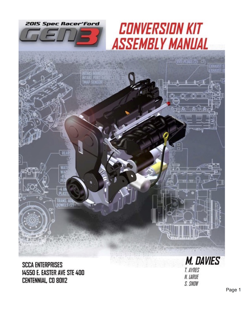 Gen3 Conversion Manual