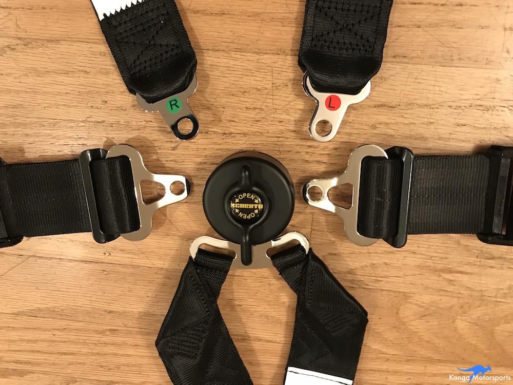 Kanga Motorsports Seat Belts Cam Lock.JPG