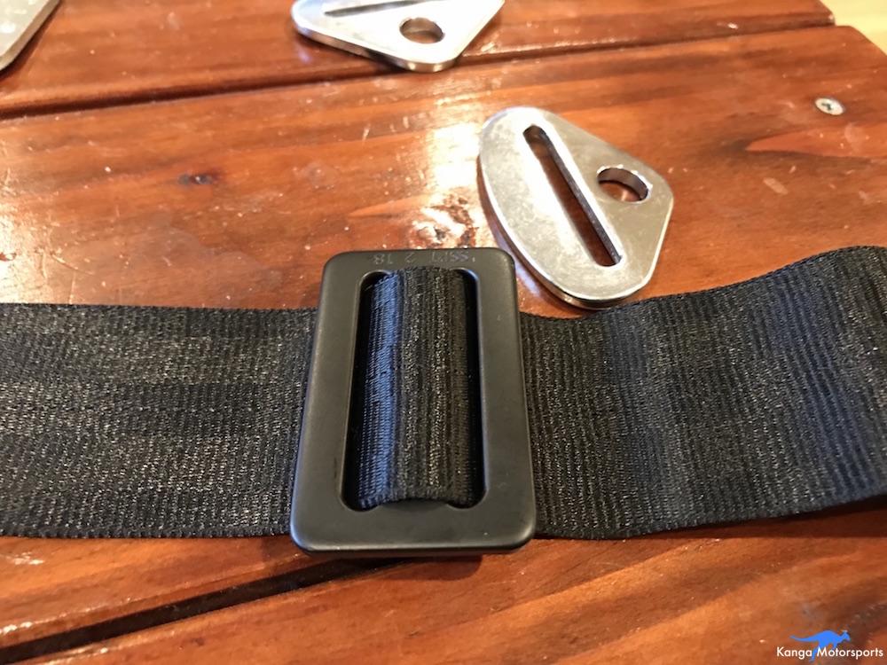 Kanga Motorsports Seat Belts Lap Rewebbing Mount Part 3.JPG