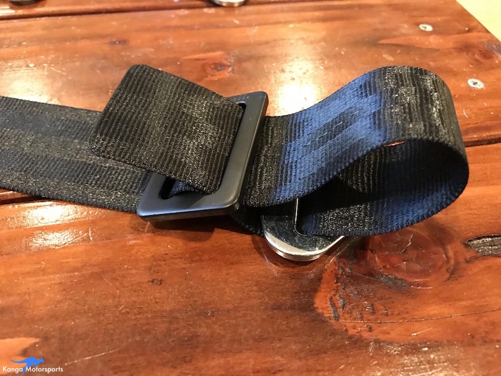 Kanga Motorsports Seat Belts Lap Rewebbing Mount Part 5.JPG