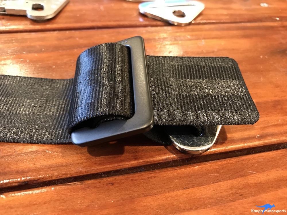 Kanga Motorsports Seat Belts Lap Rewebbing Mount Part 8.JPG