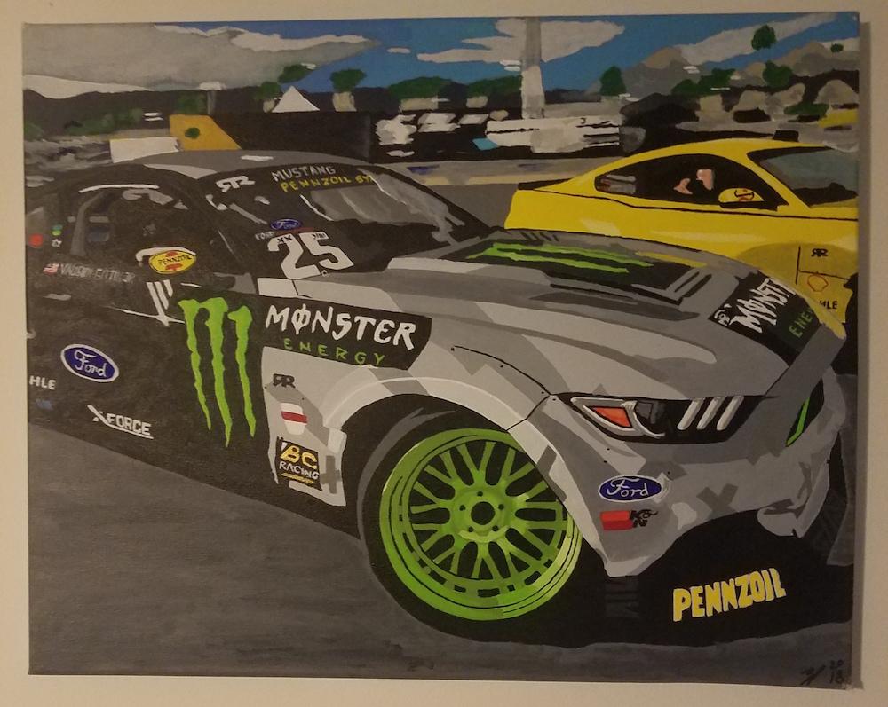 Monster Energy Mustang Eyes Up Auto Art Example 2.jpg