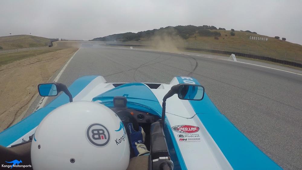 Kanga Motorsports Spec Racer Ford Gen3 WeatherTech Raceway Laguna Seca Race 7 & 8 Practice Spin.jpg