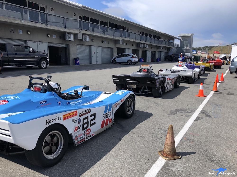 Kanga Motorsports Spec Racer Ford Gen3 WeatherTech Raceway Laguna Seca Race 7 & 8 Qualifying Grid.JPG