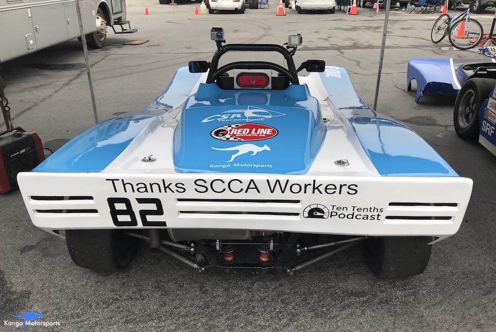 Kanga Motorsports Spec Racer Ford Gen3 WeatherTech Raceway Laguna Seca Race 7 & 8 Thank You.JPG