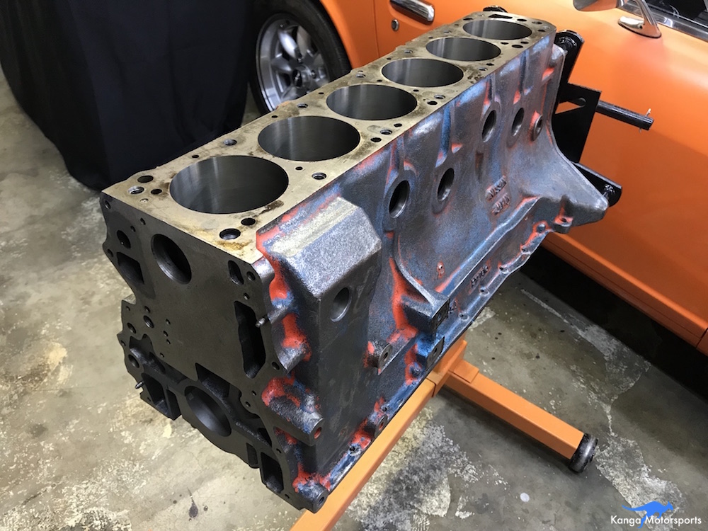 Kanga Motorsports Datsun 240z L28 Engine Block Modications Upgrades Overview.JPG