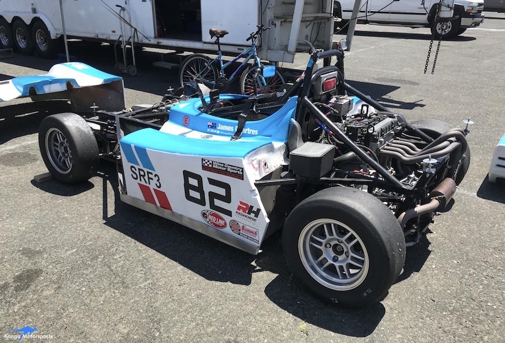 Kanga Motorsports Spec Racer Ford Gen3 Sonoma Raceway Races 9 & 10 Lunch Time Maintenance.JPG