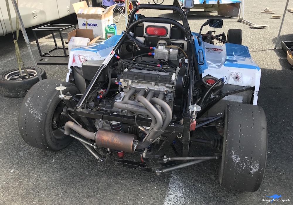 Kanga Motorsports Spec Racer Ford Gen3 Sonoma Raceway Races 9 & 10 Maintenance After Qualifying.JPG